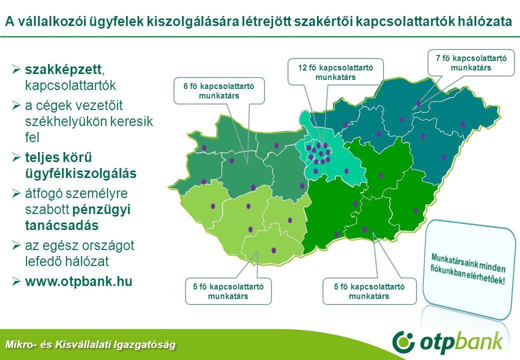 Az OTP Bank nem csak beszél a hitellehetőségekről 2011-ben a Bank kiemelt figyelmet fordít Magyarországon a vállalati szektorra, ezen belül is kiemelten az agrár és kis- és középvállalati ügyfélkörre – ahol összességében 10%-ot megközelítő állománynövekedési célokat tűzött ki maga elé.