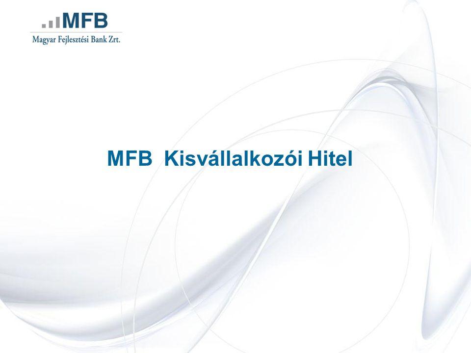 MFB Kisvállalkozói Hitel
