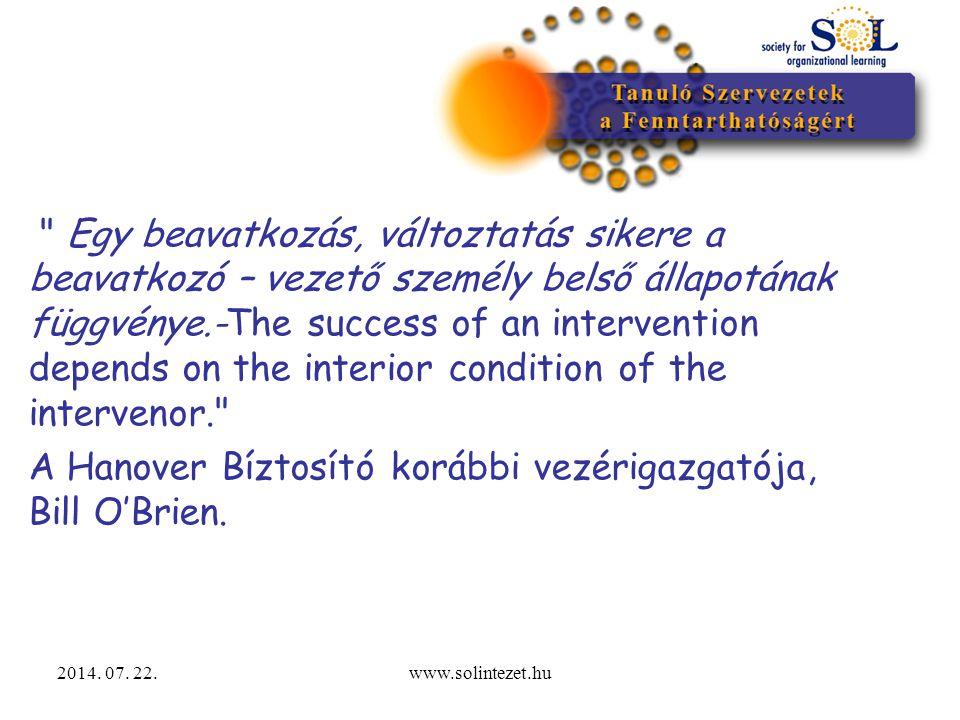 2014. 07. 22.www.solintezet.hu A kultúra jéghegy modellje