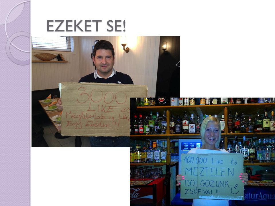EZEKET SE! 13