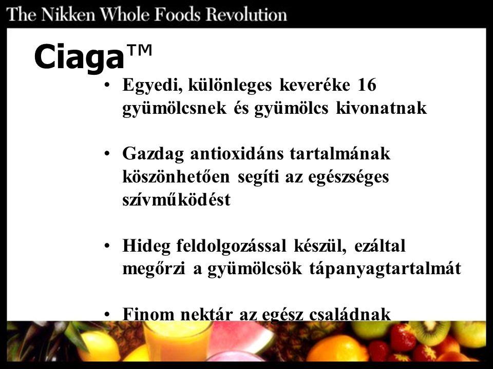 Egyedi, különleges keveréke 16 gyümölcsnek és gyümölcs kivonatnak Gazdag antioxidáns tartalmának köszönhetően segíti az egészséges szívműködést Hideg