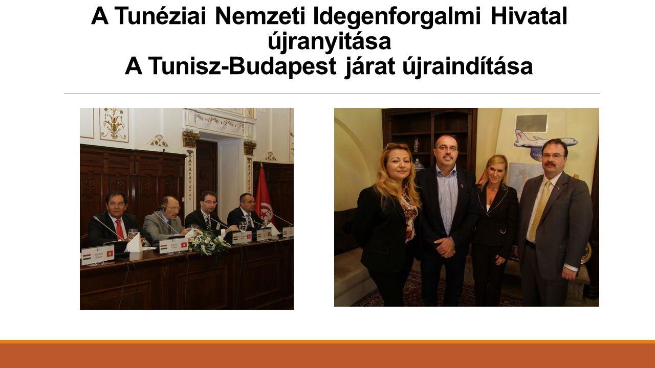 A Tunéziai Nemzeti Idegenforgalmi Hivatal újranyitása A Tunisz-Budapest járat újraindítása