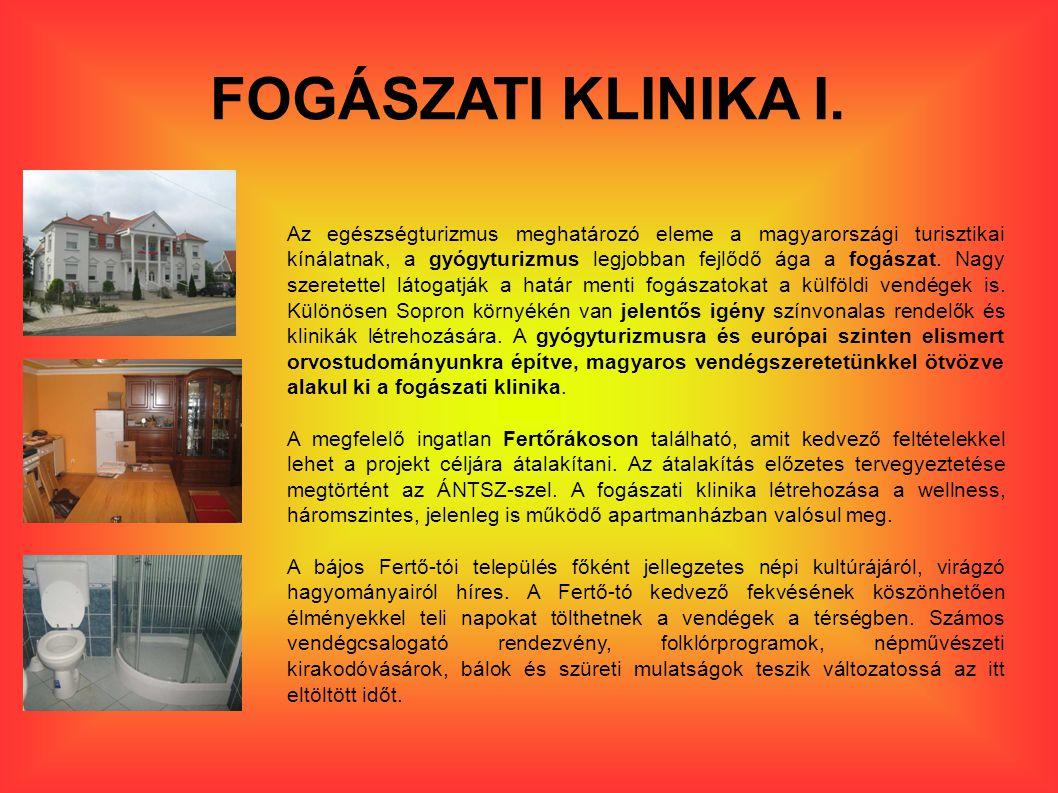 FOGÁSZATI KLINIKA I.