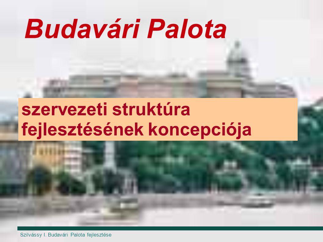 Szilvássy I. Budavári Palota fejlesztése Budavári Palota szervezeti struktúra fejlesztésének koncepciója