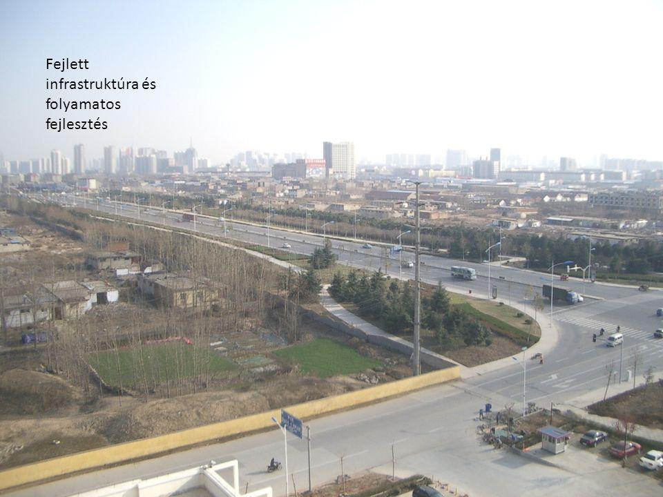Fejlett infrastruktúra és folyamatos fejlesztés