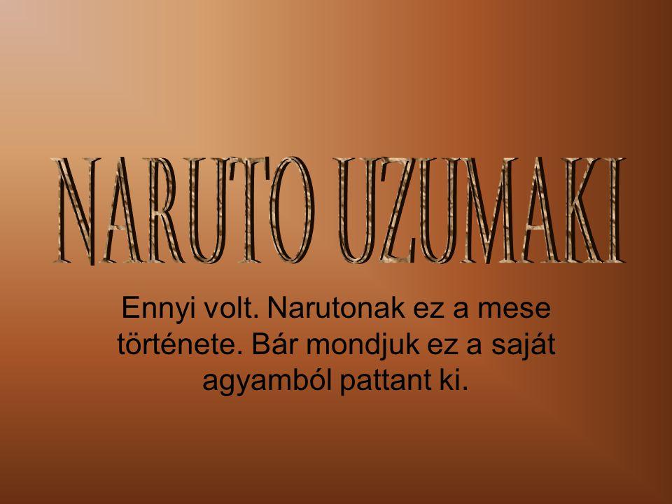 Ennyi volt. Narutonak ez a mese története. Bár mondjuk ez a saját agyamból pattant ki.