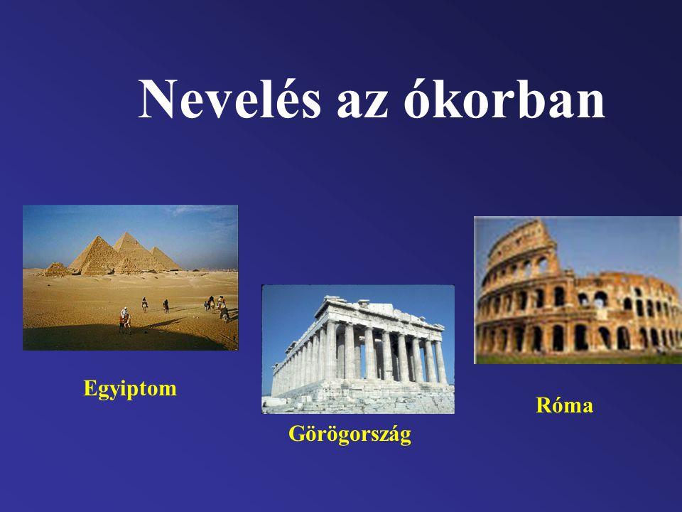 Antik görög nevelés Kr.e.XIII-IV.sz.