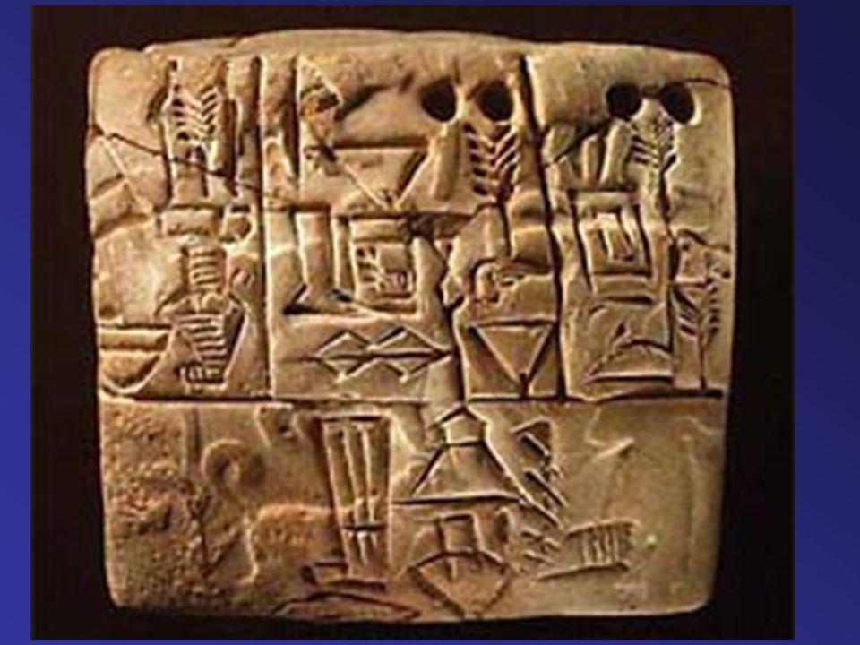 Fönícia Az első alfabetikus írás megalkotása (22 betűjel).