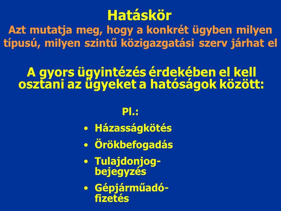 Joghatóság Az ügyek magyar és külföldi hatóságok közötti megosztásával kapcsolatos fogalom MK területén a magyar ügyfél, vagy Magyarországon nyilvánta