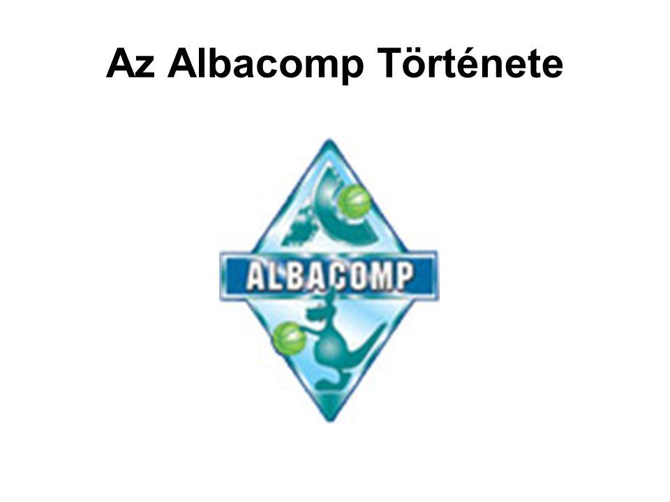 Az Albacomp Története