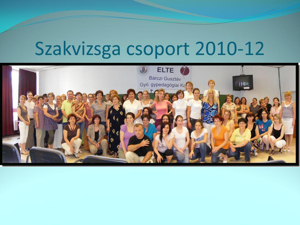 Szakvizsga csoport 2010-12