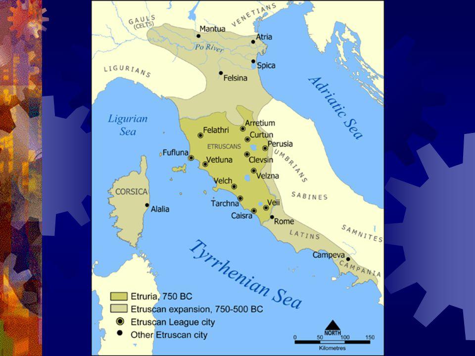 Az etruszkok története I. Településeik az i. e. 10–11.