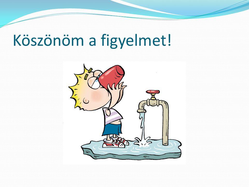 Miért igyunk csapvizet? Azért, mert számos, a szervezetünk számára szükséges ion, nyomelem található a csapvízben Azért, mert üdít, frissít, a legjobb