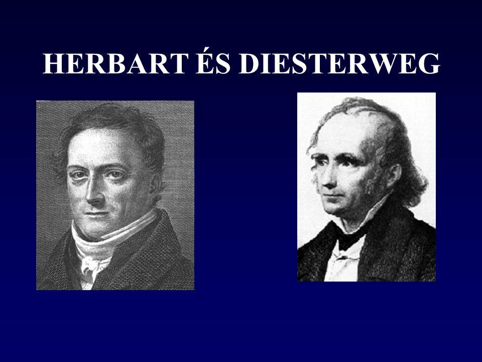 HERBART ÉS DIESTERWEG
