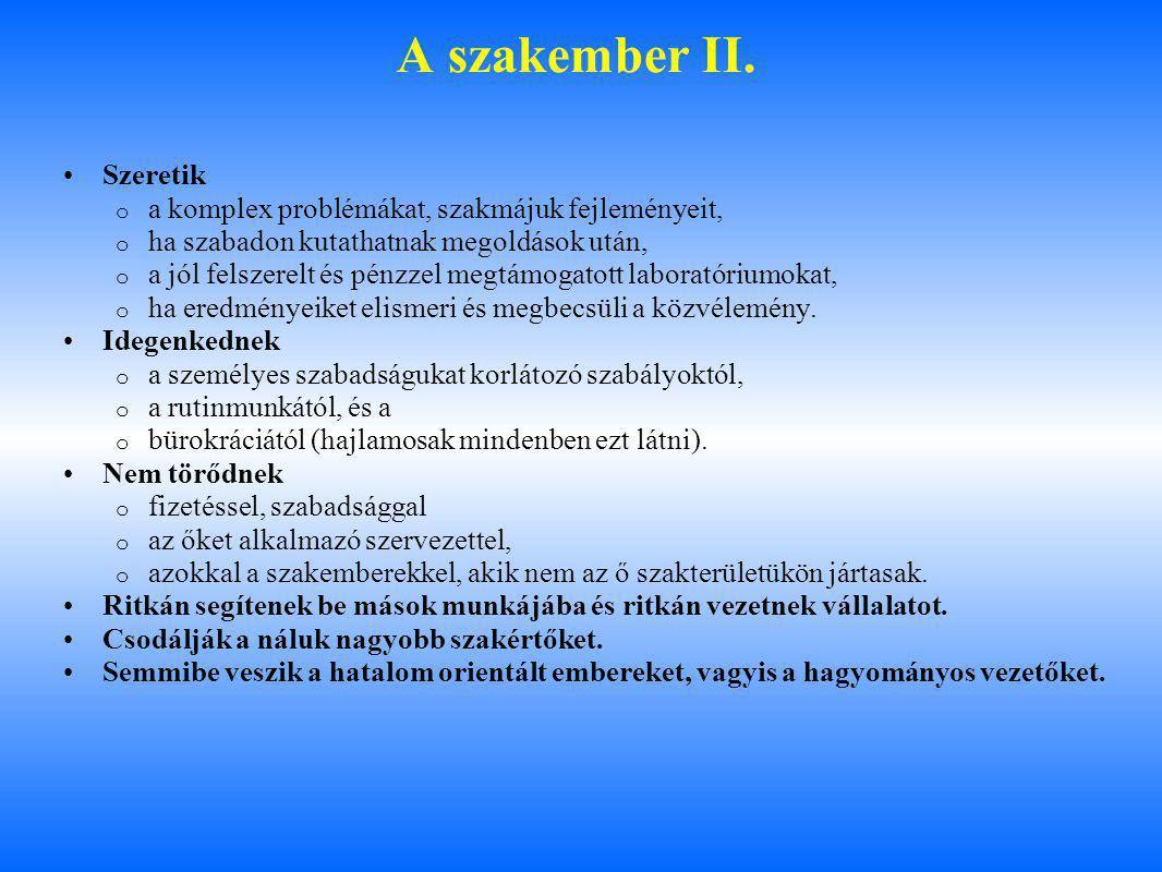 A szakember II.