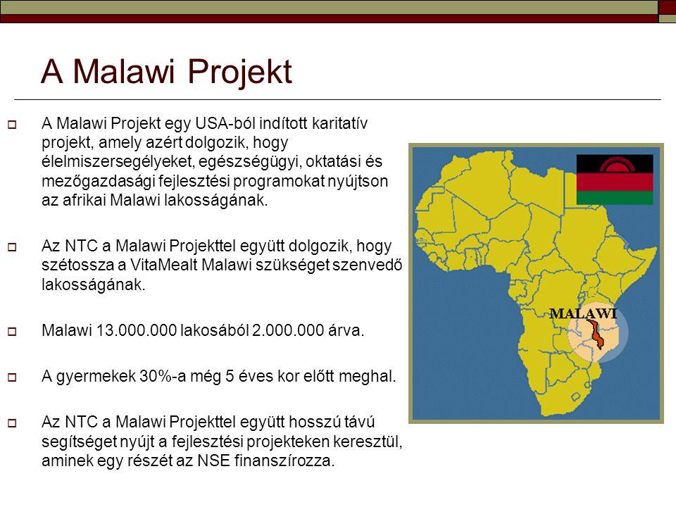  A Malawi Projekt egy USA-ból indított karitatív projekt, amely azért dolgozik, hogy élelmiszersegélyeket, egészségügyi, oktatási és mezőgazdasági fe