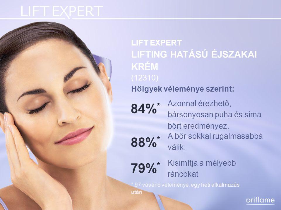 LIFT EXPERT KONTÚRJAVÍTÓ szérum Egy formula, amely tömörebbé, rugalmasabbá teszi az arc kontúrját.