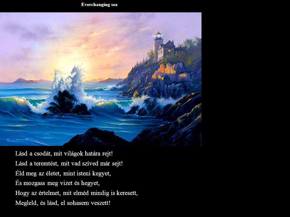 Everchanging sea Lásd a csodát, mit világok határa rejt.