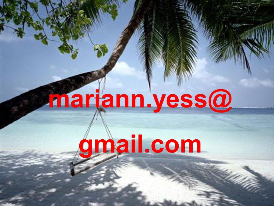 mariann.yess@ gmail.com