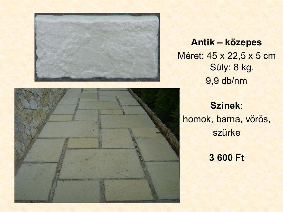 Hatszög kezdő II.Méret: 51 x 22 x 4 cm Súly: 8 kg.