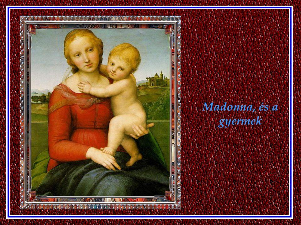 Madonna, és a gyermek