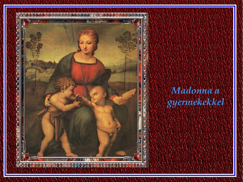 Madonna a trónon