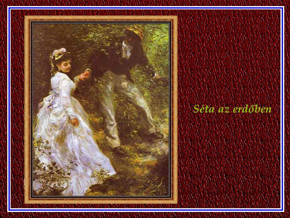 Alfred Sisley, és felesége