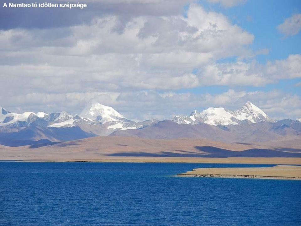 A Namtso tó időtlen szépsége
