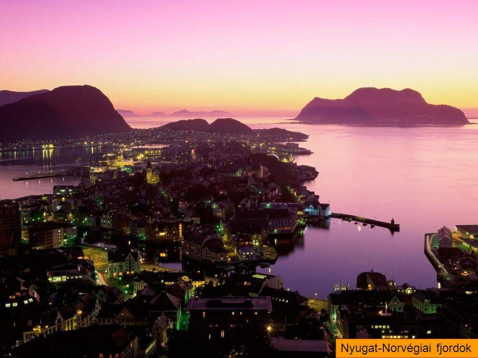 Nyugat-Norvégiai fjordok