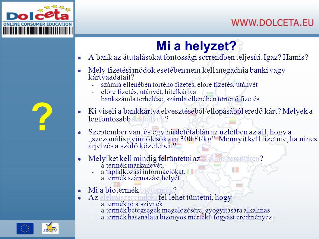 Program disszemináció Közös megoldások (EU szinten) - Kiadvány - Tanári füzet - Vizuális anyagok: (plakát, matrica, bookmark, egységes megjelenés, stb.) - Direct mail (címlista!) - Európai és nemzeti események (konferencia, szeminárium) Egyedi megoldások (hazai szinten) - Web-linkek (pl.