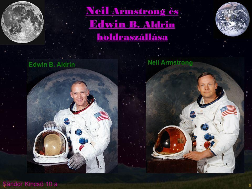 Sándor Kincső 10.a A holdprogram hivatalos bejelentése 1961.