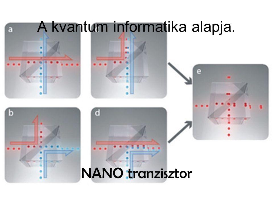 A kvantum informatika alapja. NANO tranzisztor