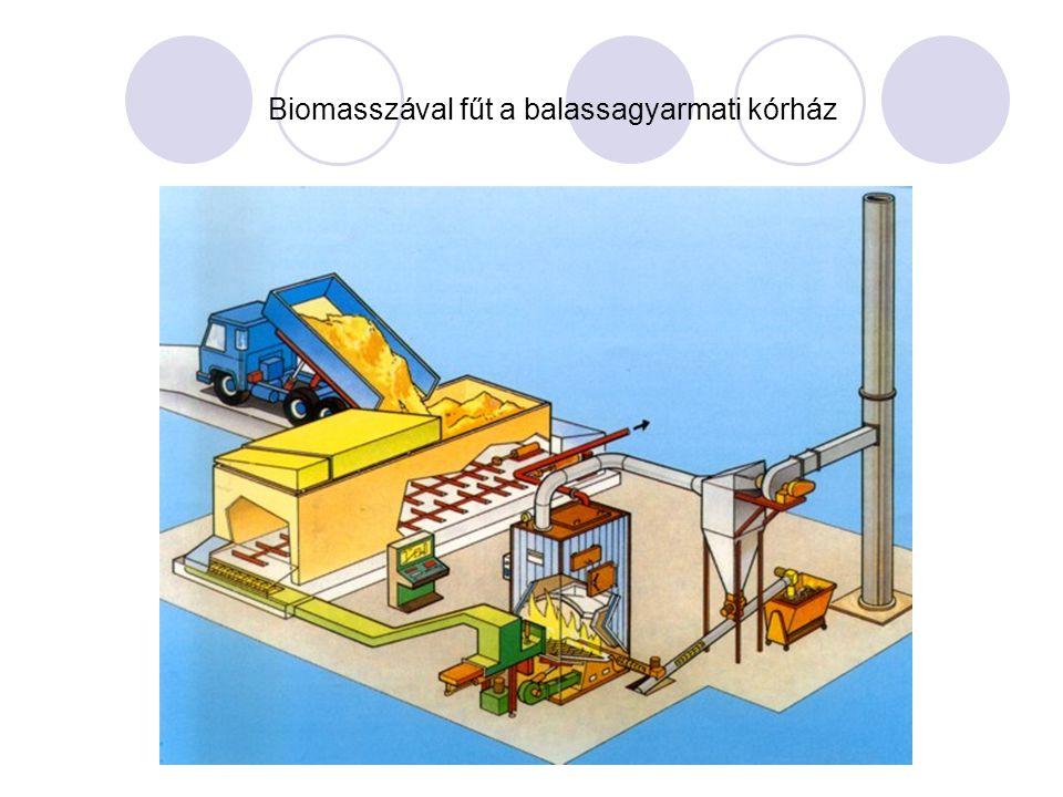 Biomasszával fűt a balassagyarmati kórház