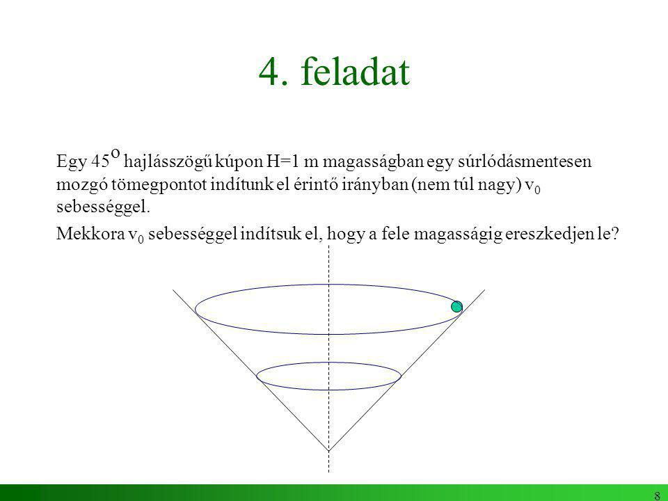 9 Egy másik szimmetria Szimmetria: tértükrözés Megmaradás: paritás