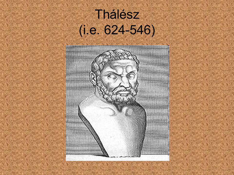 Thálész (i.e. 624-546)