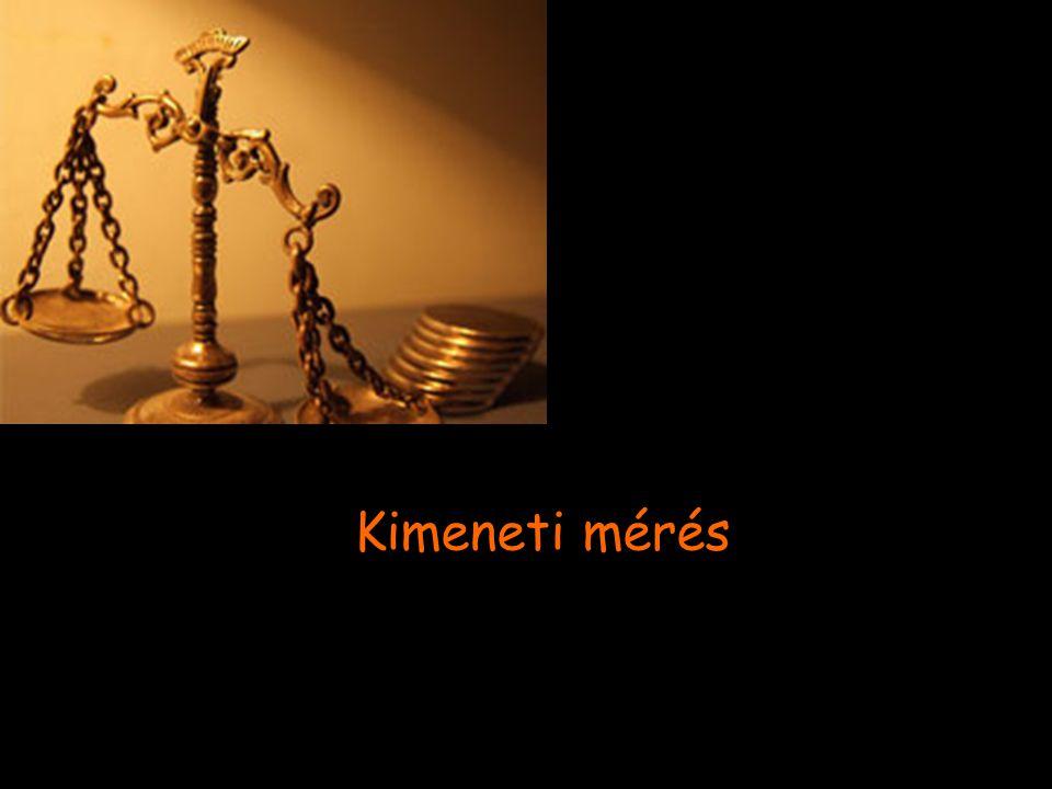 Kimeneti mérés