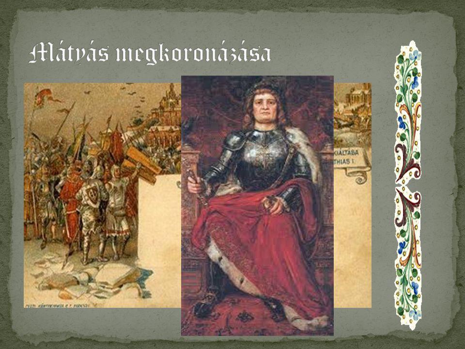 Mátyás királyként apja nyomdokaiban haladt, és keményen lépett fel a hatalmát fenyegetők ellen.