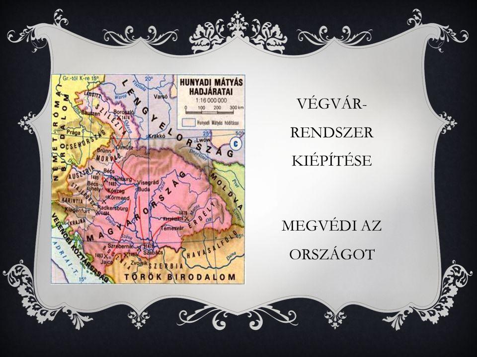 VÉGVÁR- RENDSZER KIÉPÍTÉSE MEGVÉDI AZ ORSZÁGOT