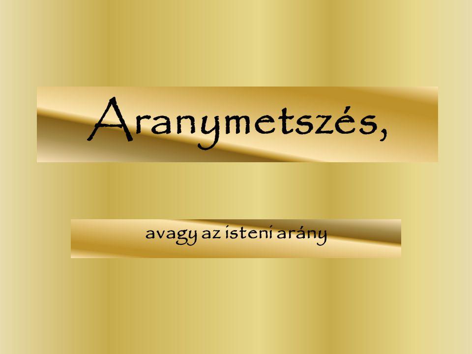 Aranymetszés, avagy az isteni arány