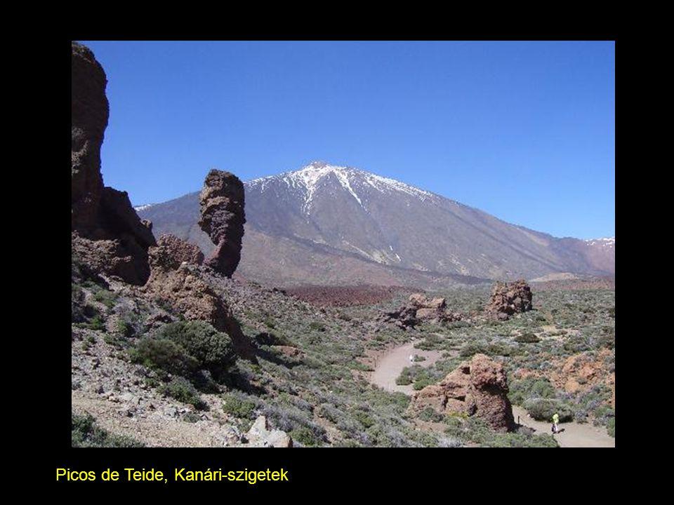 Picos de Teide, Kanári-szigetek