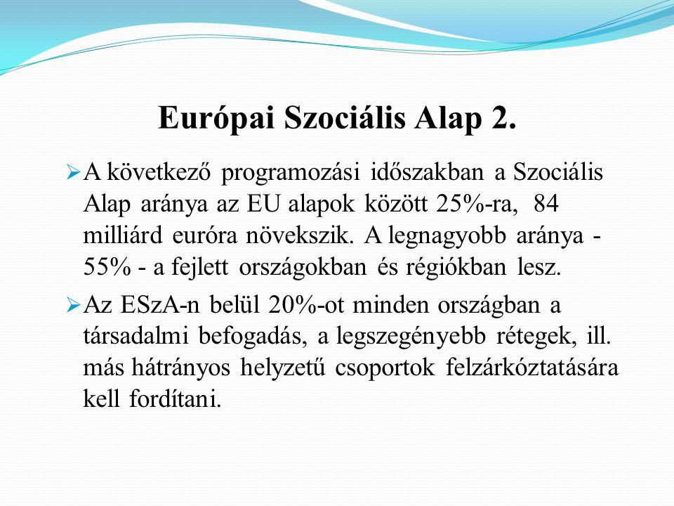 Európai Szociális Alap 2.