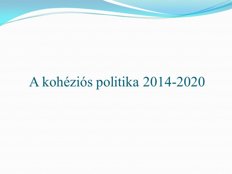 A kohéziós politika 2014-2020