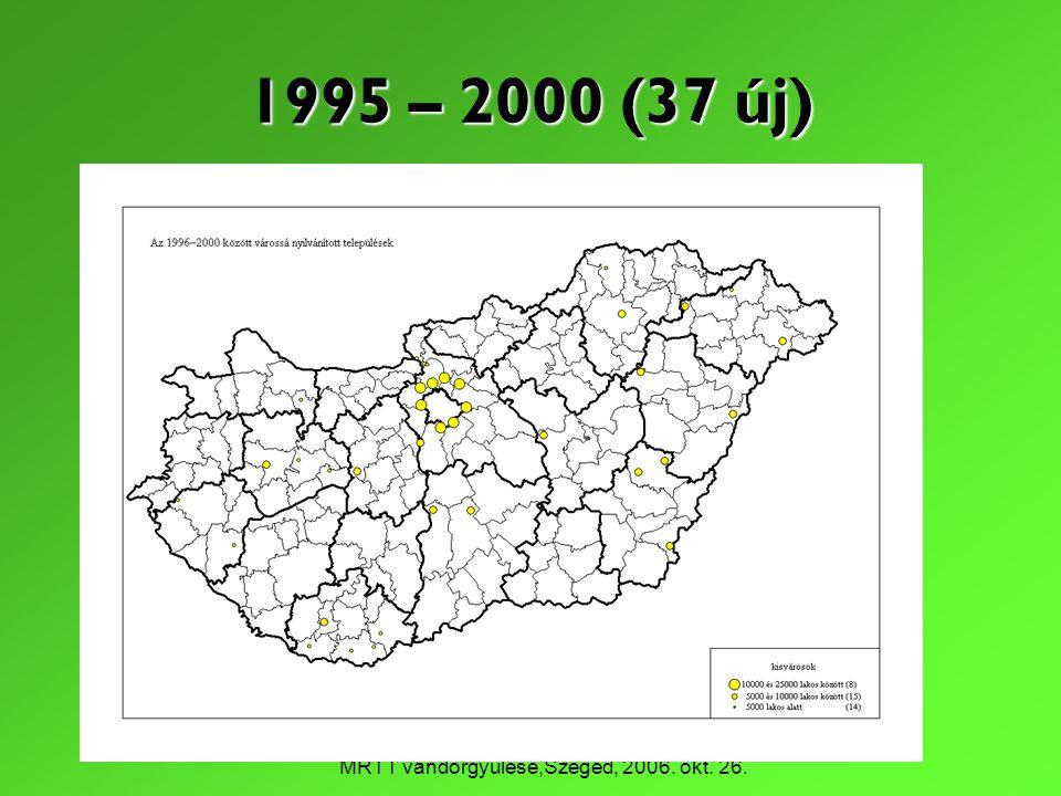 1995 – 2000 (37 új)