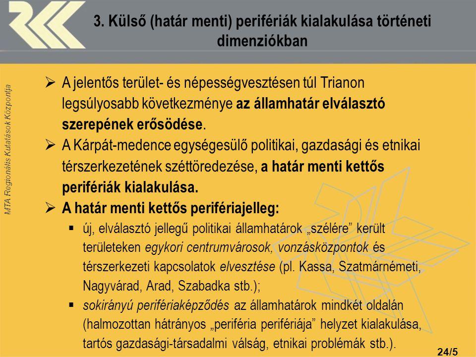 MTA Regionális Kutatások Központja 24/16 8.