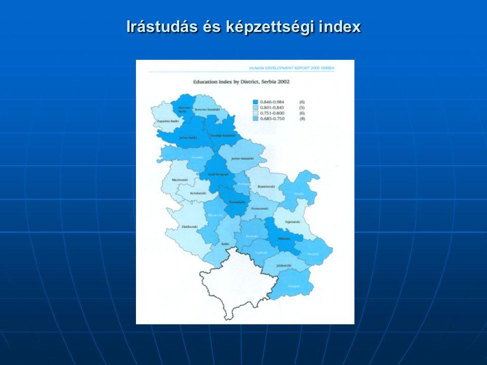 Irástudás és képzettségi index