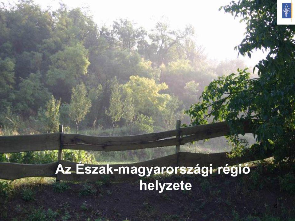 6 Az Észak-magyarországi régió helyzete