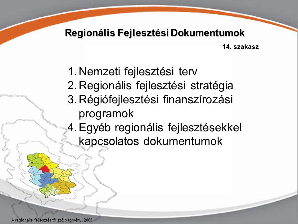 Regionális Fejlesztési Dokumentumok 14.