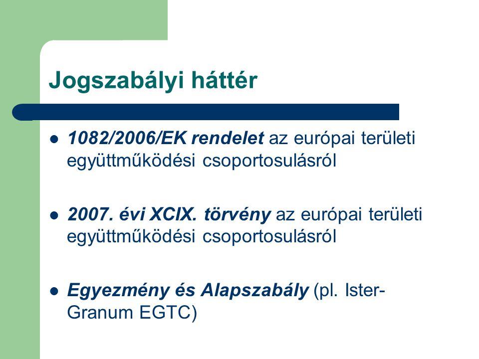 EU-tagállamok és harmadik országok Horvátország – az EU-csatlakozás jegyében dolgozik a közösségi joganyag átvételén, beleértve az uniós EGTC- rendelettel összhangban lévő nemzeti jogszabály mielőbbi elfogadását is.