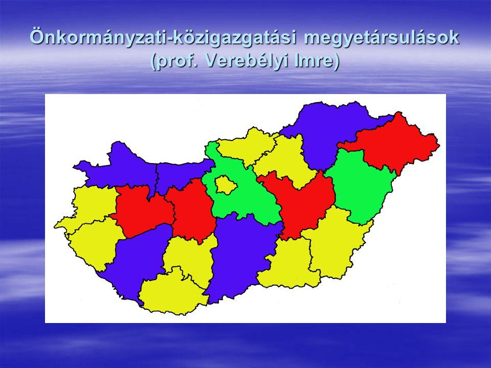 Önkormányzati-közigazgatási megyetársulások (prof. Verebélyi Imre)
