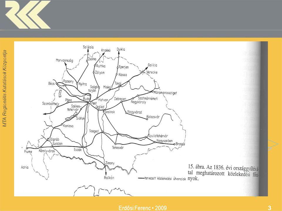 MTA Regionális Kutatások Központja Erdősi Ferenc 2009 3